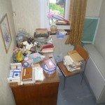 Avant vide appartement