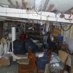 Avant vide garage