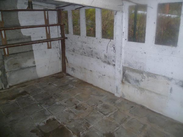 Après vide garage